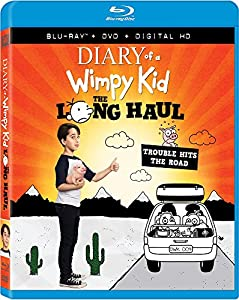 Cover Image for 'Diary of a Wimpy Kid: The Long Haul [Blu-ray + DVD + Digital HD]'