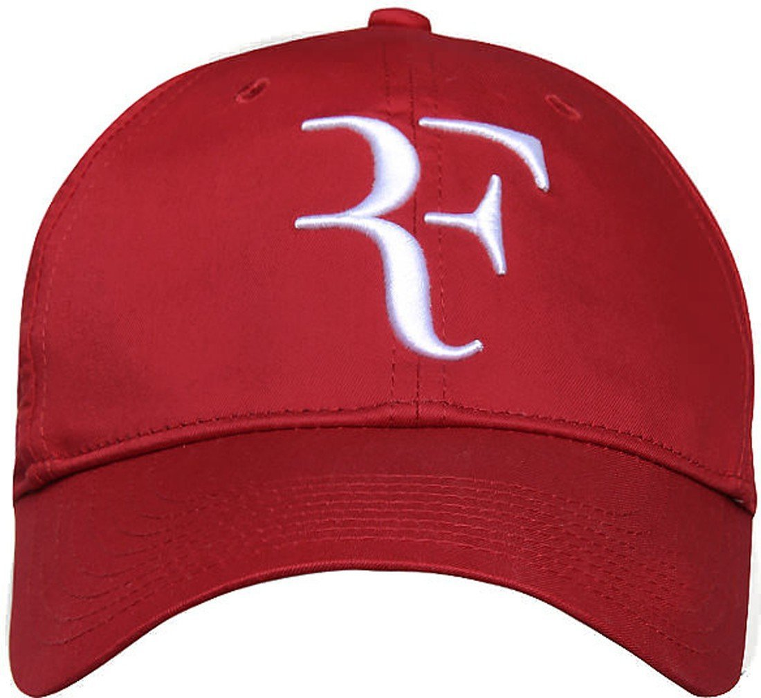 Nike RF Federer Dri Fit Tennis Cap 2013 Gym Red/White Hat