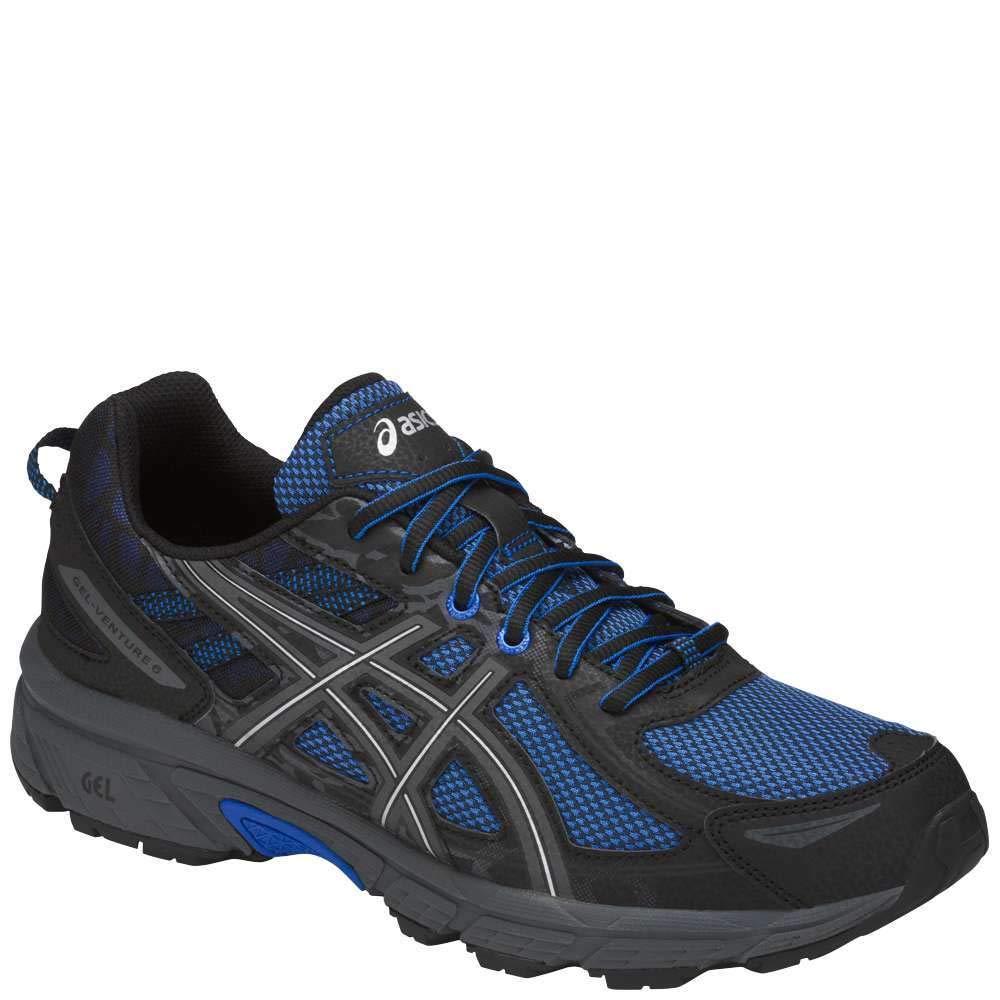 ASICS Mens Gel-Venture 6 Running Shoe, Victra Blue/Blue/Black, 7