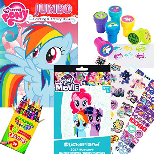 ing & Activity Book with MLP The Movie Stickers, Crayons and Stampers ()