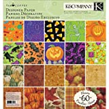 K&Company Tim Coffey Halloween and Fall Designer Paper Pad, 12-by-12-Inch