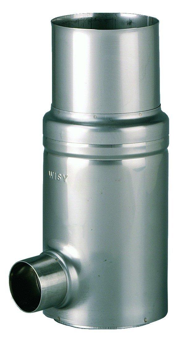 WISY Regenwasserfallrohrfilter für Metall-Fallrohre DN 80, Filterfeinheit 0,44mm,