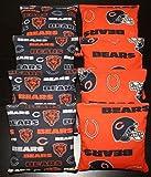 CHICAGO BEARS Cornhole Bags 8 ACA Regulation Corn Toss Baggo Bean Bags