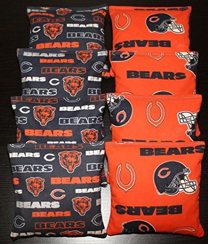 chicago bears corn hole bags - 2