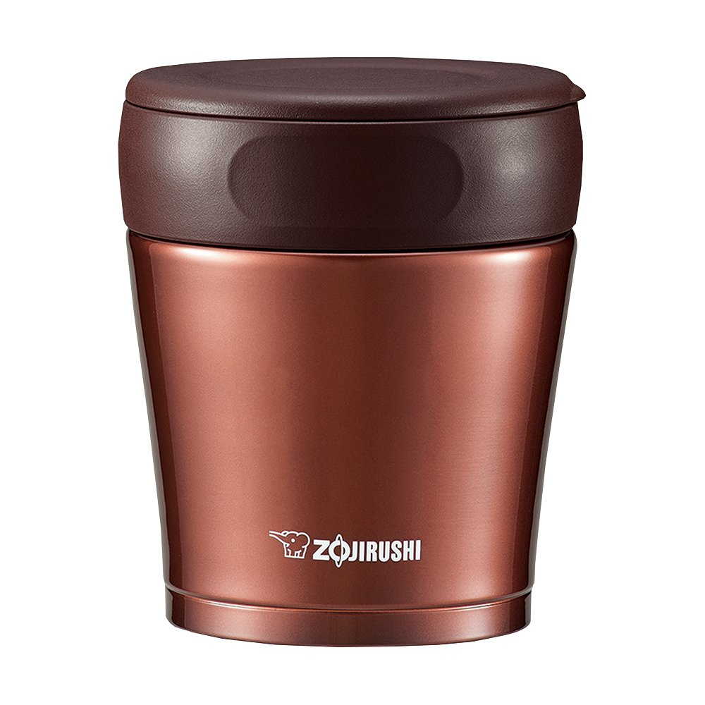 Zojirushi stainless steel food jar 260ml Nuts Brown SW-GC26-TA Zojirushi (ZOJIRUSHI)