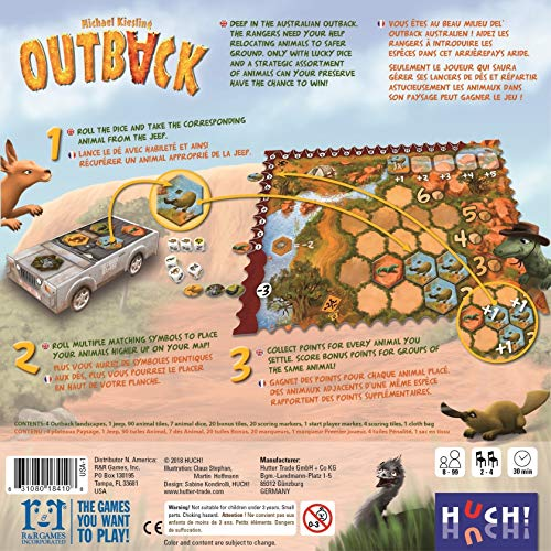 R & R Games 410 Outback