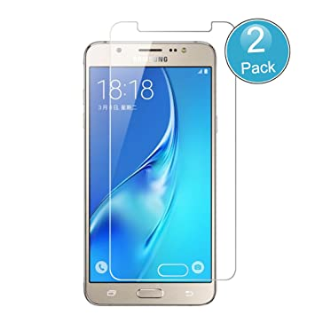 Samsung Galaxy J7 2016 Protector de Pantalla, Wrcibo [2 Pack] 9H ...