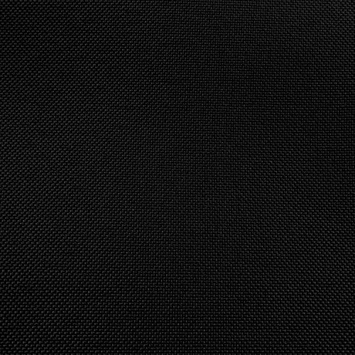 Ultimate Textile 21 ft. Shirred Pleat Polyester Table Skirt - 42'' Bar Height, Black by Ultimate Textile (Image #3)