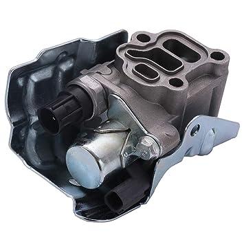 SCITOO Engine Variable Timing VTEC Solenoid Spool Valve VVT fit for Honda Accord Honda Civic Honda CR-V