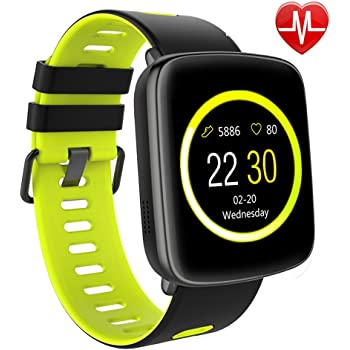 Willful Smart Watch for iPhone & Android Phones, SW018 Smartwatch Fitness Tracker Heart Rate Monitor Watch,Sleep Monitor Pedometer Watch for Men Women (IP68 ...