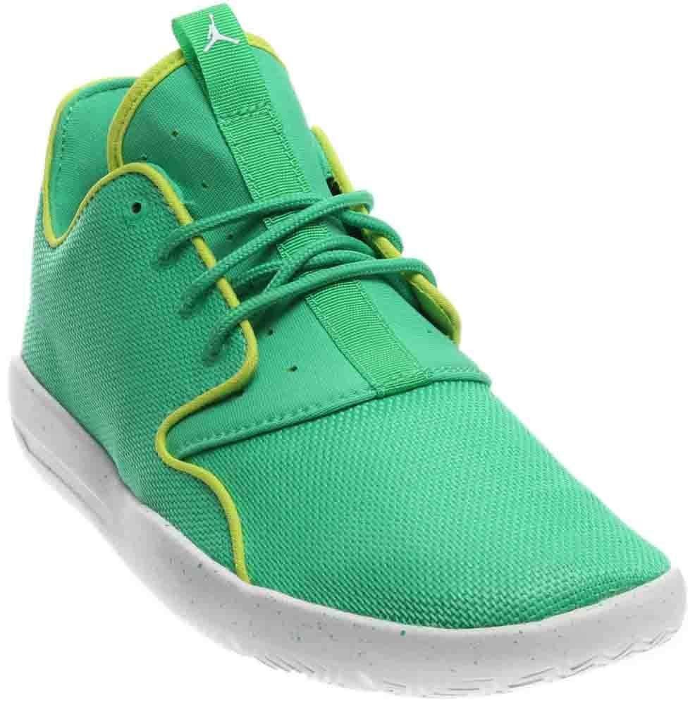 Jordan Nike Kids Eclipse GG Gamma Green/White/Cyber/White Running Shoe 5 Kids US