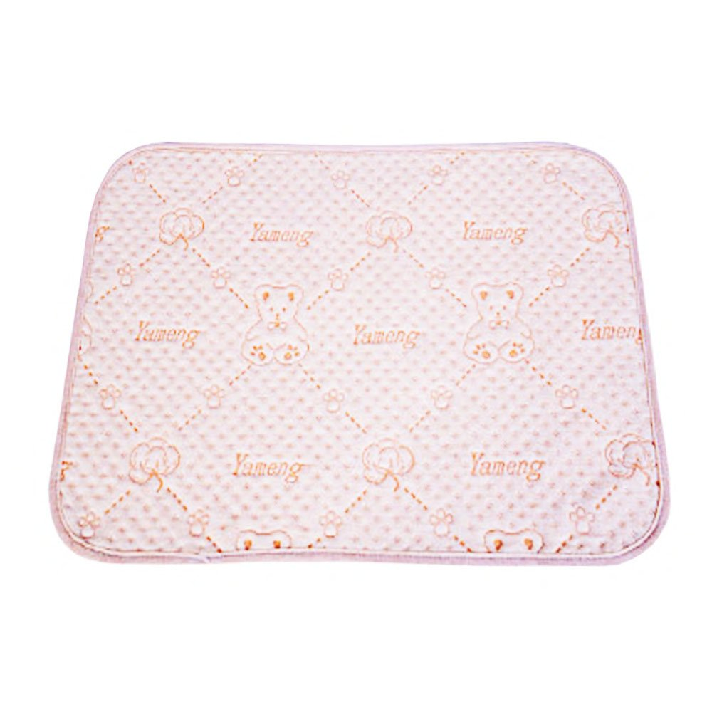 Bocks Baby Underpad,20'' X 28'' Waterproof Reusable Pad, Anti-Slip Incontinence Pad, for Bed Wetting Changing Pad with Soft Colorful Cotton Surface, Breathable and Absorbent Cotton Layer (20'' X 28'')