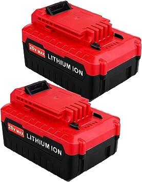 5.0Ah For Porter Cable PCC685L 20Volt Max Lithium Battery PCC680L Cordless Tools