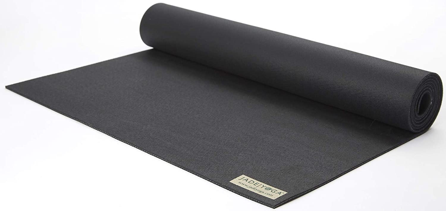 Amazon Com Jade Yoga Harmony Yoga Mat Yoga Mat Designed To Provide A Secure Grip To Help Hold Your Pose Sports Outdoors