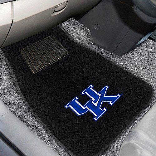FANMATS 10300 Kentucky 2-Piece Embroidered Car Mat