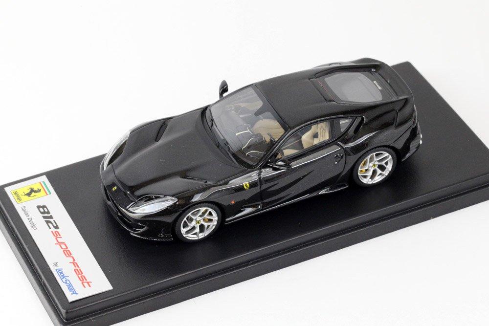 【初売り】 LOOKSMART/ルックスマート 812 1/43 フェラーリ 812 Superfast 1/43 Nero Daytona Daytona (ブラックメタリック) LS467G B074M5VPKN, 納得ショップ:644d7306 --- test.ips.pl