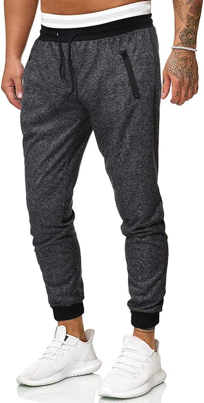 LANSKIRT_Pantalones Pantalones de Deporte Hombre Modernos ...