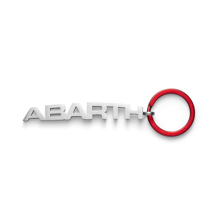 FCA Abarth Llavero Original Anillo Rojo y Texto Abarth de ...