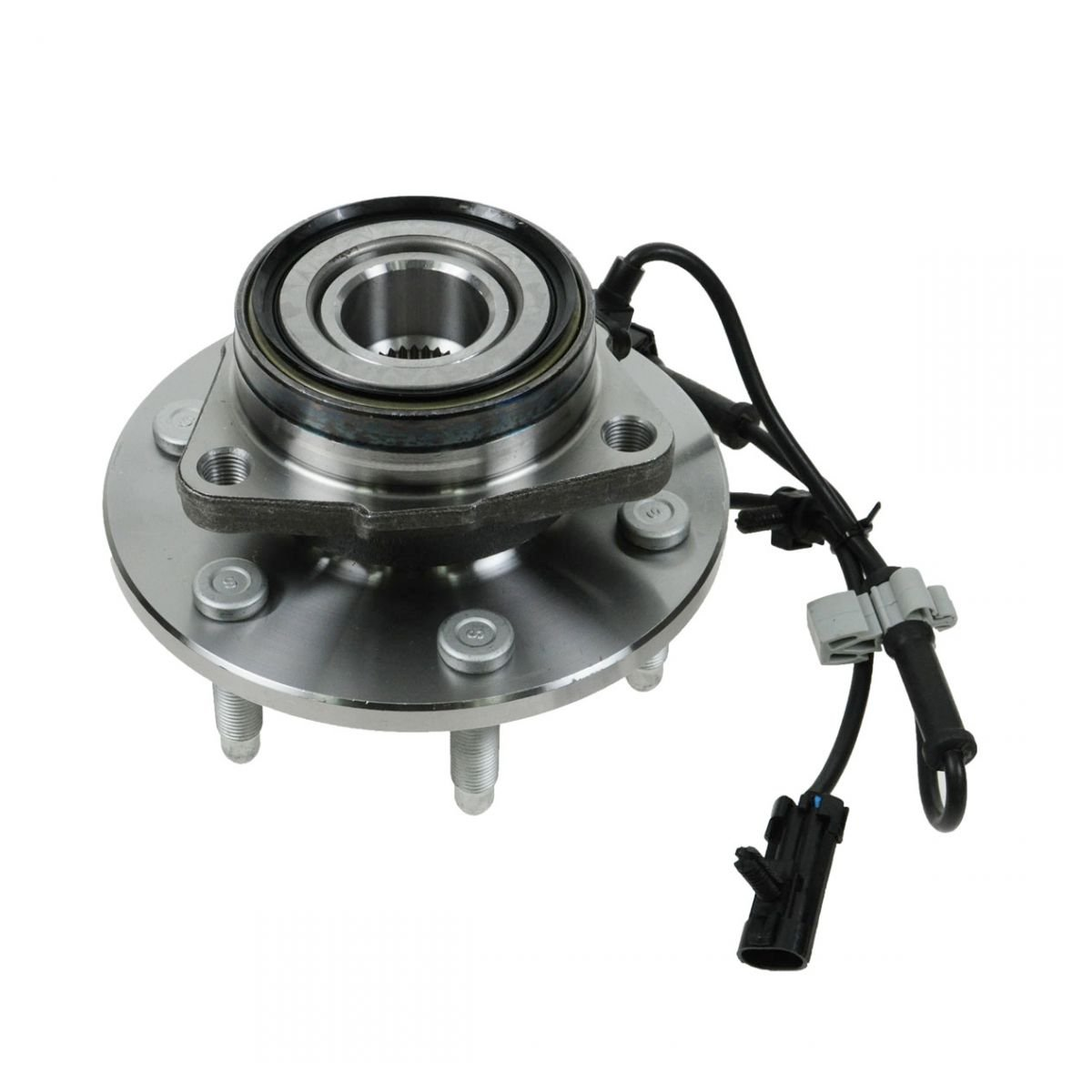 Front Wheel Hub & Bearing w/ABS for Chevy GMC Pickup Truck 4X4 4WD AWD by AM Autoparts
