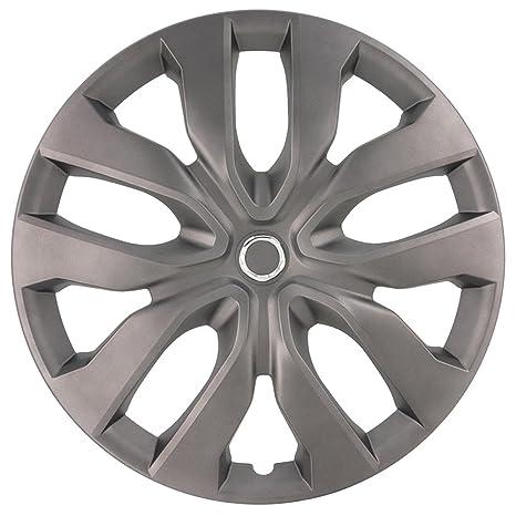 AutoStyle Kt1052 – 15 Fundas para ruedas de MGM Set, matt-gunmetal, 15