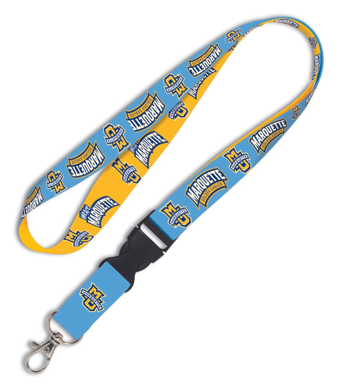 3//4 WinCraft NCAA Marquette University 20347012 Lanyard with Detachable Buckle