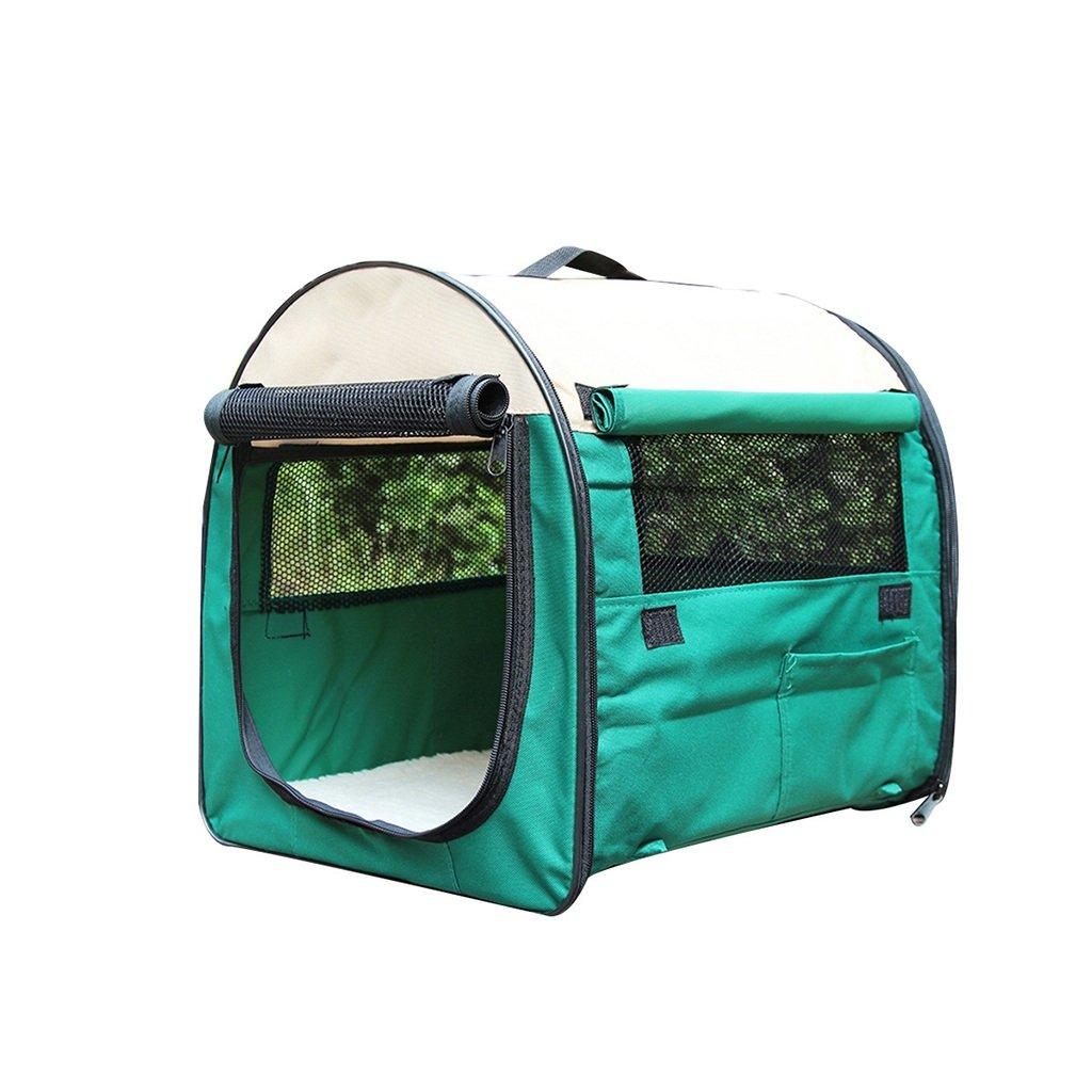 ペットの部屋犬のテント外のテント小型、中型、大型犬、ペット犬小屋 (色 : 緑, サイズ さいず : Xl xl) B07R75KD67 緑 Xl xl