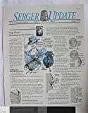 img - for Serger Update Vol. 7 No. 5 August 1993 book / textbook / text book