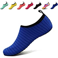 AoSiFu Barefoot Water Shoes Aqua Socks Surf Pool Yoga Beach Swim Exercise for Mens and Womens
