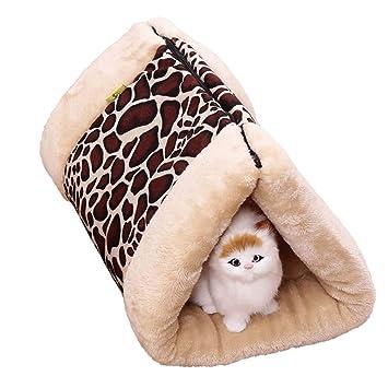Cama para perro mascotas Cama pequeña con Cojines para Perros y Gatos para cajones, Casas