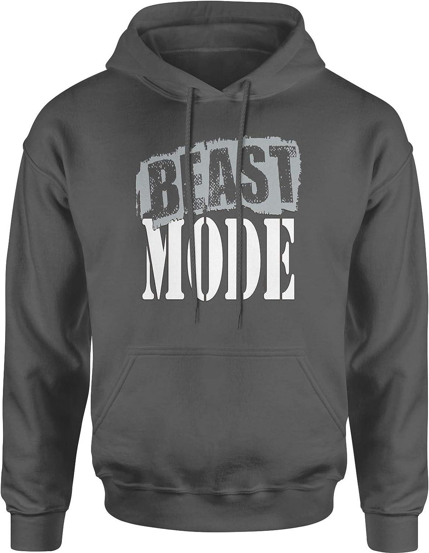 Expression Tees Beast Mode Training Unisex Adult Hoodie