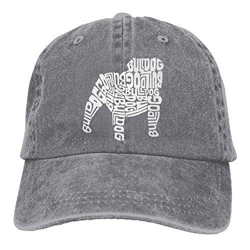 SweetieP The Words Bulldog Adjustable Cotton Hat ()