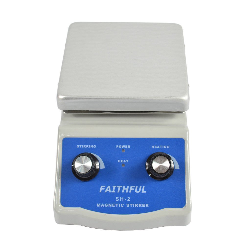 220/V SALE PRICE Hot Plate Magnetic Stirrer Dual Control with 1/inch Stir Bar