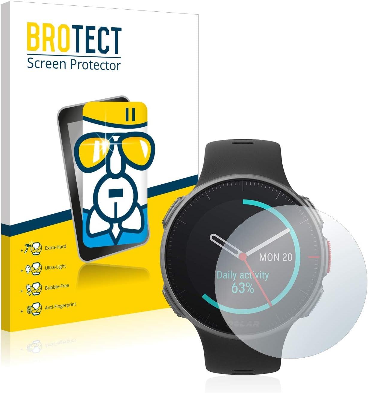 BROTECT Protector Pantalla Cristal Compatible con Polar Vantage V/V Titan Protector Pantalla Vidrio Dureza 9H AirGlass: Amazon.es: Electrónica