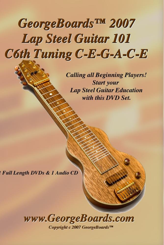 Amazon Lap Steel Guitar Instructional Dvd Georgeboards 2007 Lap