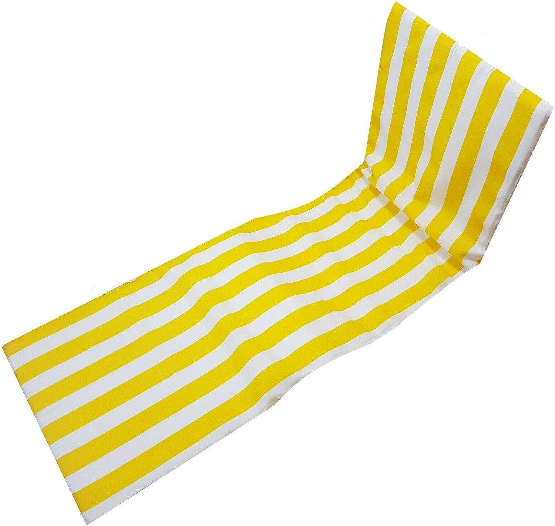 cjin Cojín Almohadilla para Tumbona Acolchado en Patio Playa Piscina