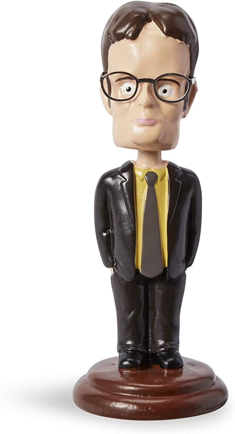 "The Office Dwight Schrute Bobblehead Dash Dancer, 5.5"" Inch"