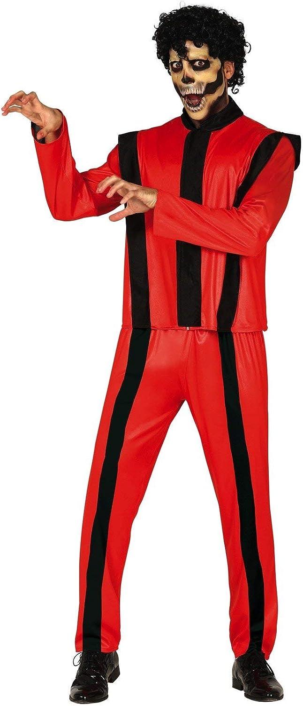 FIESTAS GUIRCA Disfraz De Michael Jackson Thriller Zombie: Amazon ...