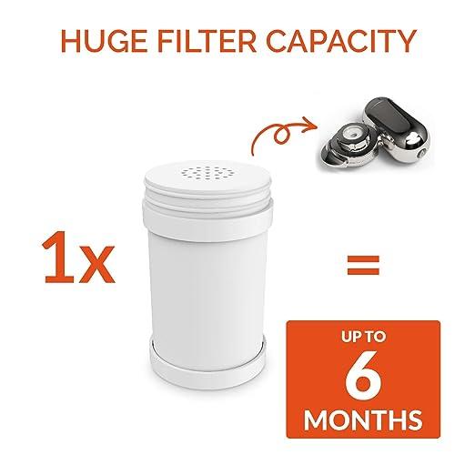 ph006 grifo filtro cartucho de recambio - para PH purificar superior 8-stage grifo y grifo filtro - Filtros cloro, fluoruro, bacterias, virus y productos ...
