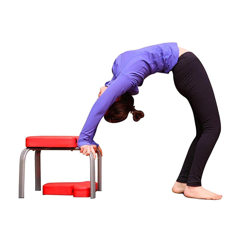 JIAL-SMEIL Yoga Headstand Bench - práctica de Yoga - Stand ...