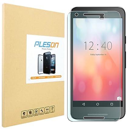 nexus 5x screen protector pleson lg google nexus 5x tempered glass screen protector amazoncom tempered glass