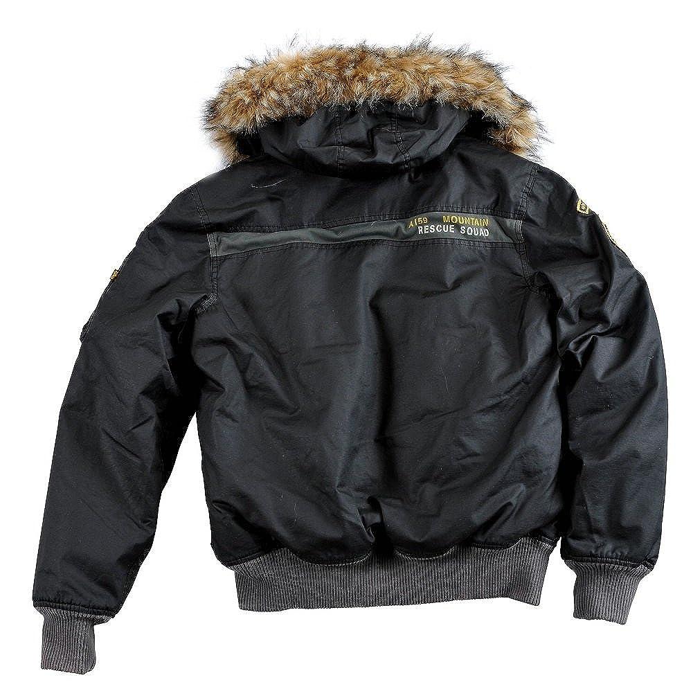 Mountain 30206 Alpha Industries Jacket Herren Winterjacke H29IDYEW
