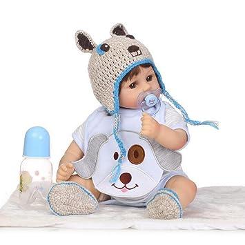 Doll Realista Reborn Bebé/Muñeca con Imán Chupete Simulación ...