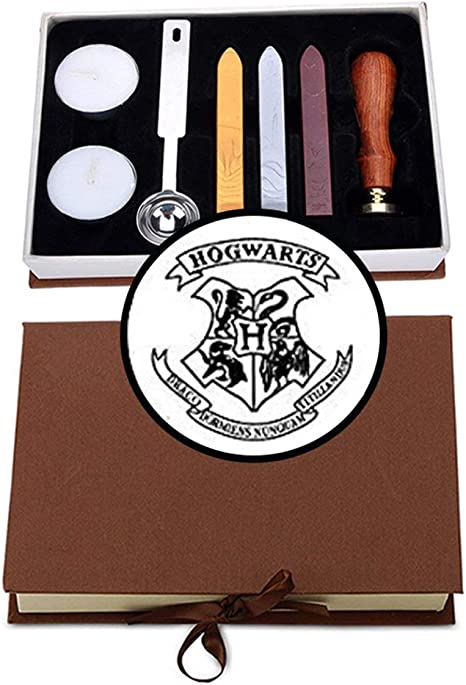 Ravenclaw Stamp for Harry Potter Hogwarts Badge Wax Seal Stamp Creative Mysterious Retro Stamp Maker Great for Gift HP Fans Birthday Christmas Hogwarts Themed Party