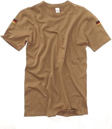 Mil-Tec - Camiseta básica para Hombre, Color Beige, Talla S: Amazon.es: Ropa y accesorios
