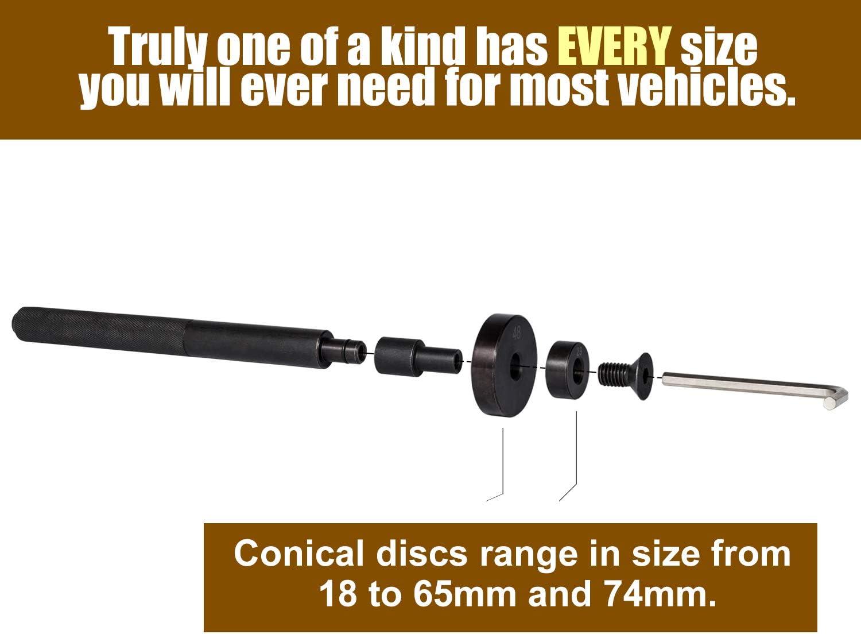 52-in-1 Custom Bushing Driver Set Wheel Axle Bearing Race Seal Installer Press Tool Kit Remover