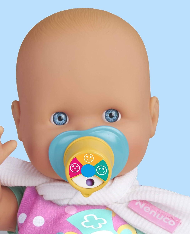Nenuco Dolor de Garganta - Muñeca bebé, para niños y niñas a partir de 3 años (Famosa 700015152)