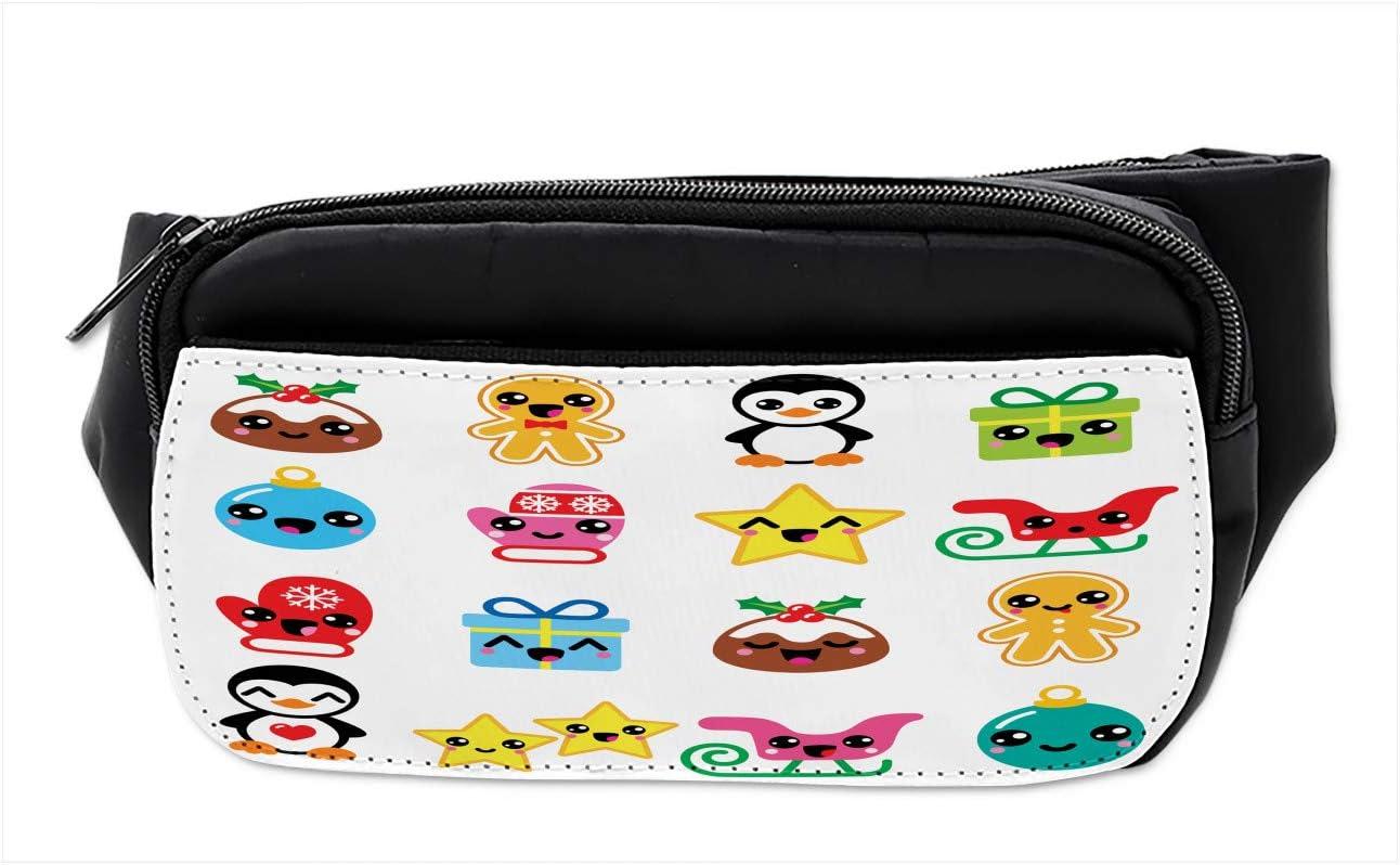 Kawaii Mama Bear Sport Waist Bag Fanny Pack Adjustable For Travel