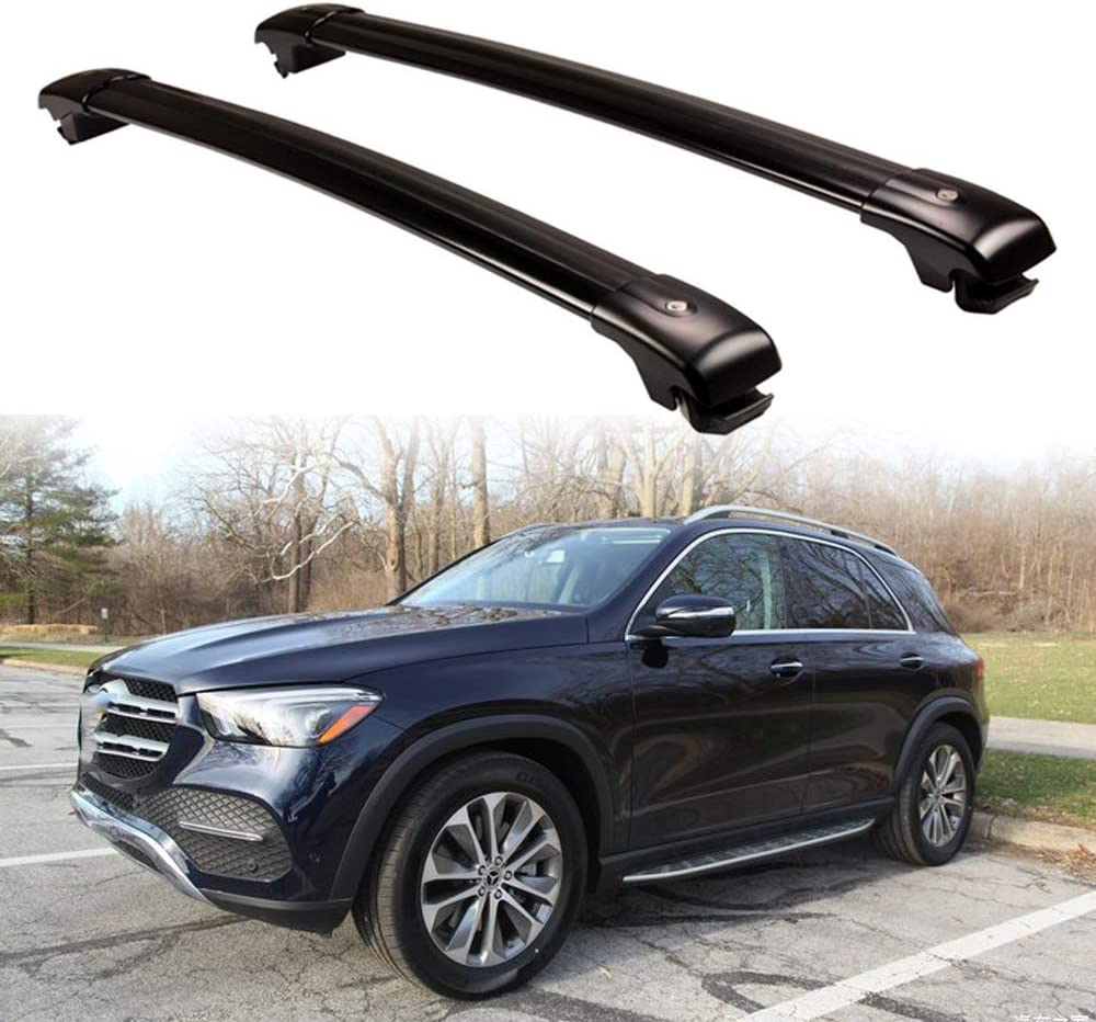 for Long Journeys Holidays and Luggage Transportation Size : for Mercedes Benz GLC 2016 Aluminum Alloy Roof Rack Cross Bar Roof Cargo Bars Compatible with GLC,for Mercedes Benz GLC 2017