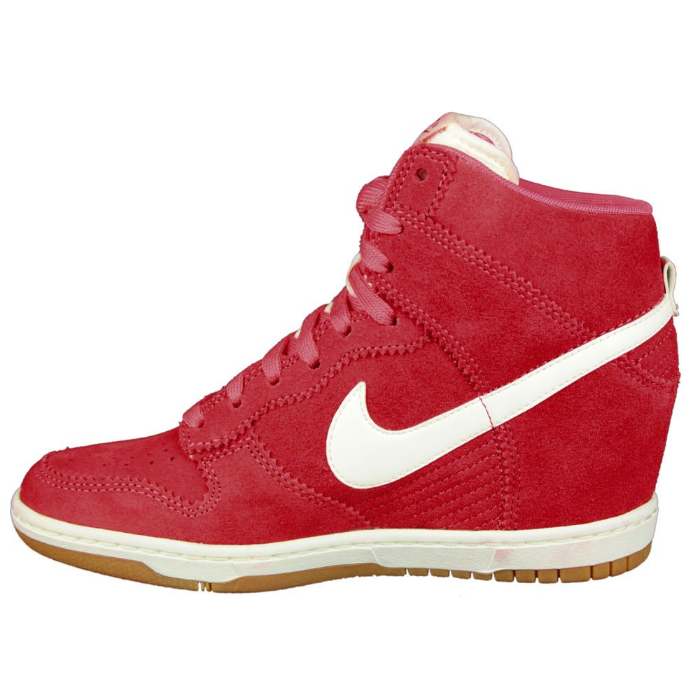 the best attitude 6f997 3ec90 NIKE DUNK HIGH SKY (WMNS) Baskets Femme 528899-601-37.5-6.5 Rouge  Amazon.co.uk Shoes  Bags