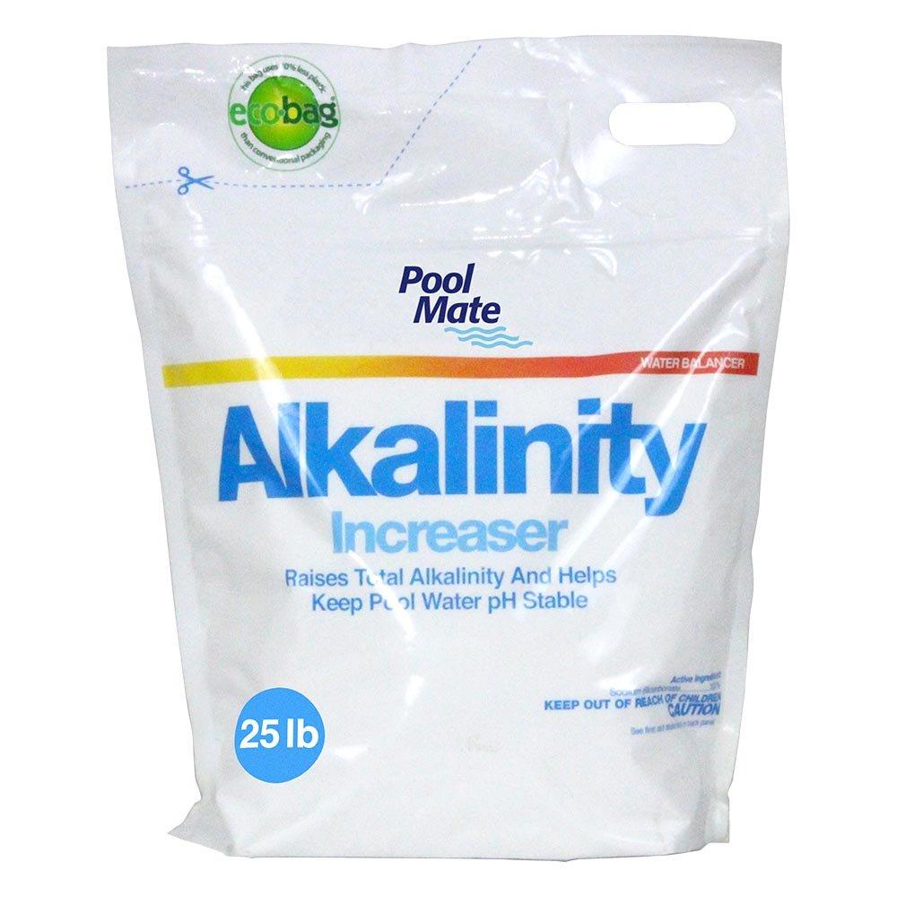 Pool Mate 1-2257B Pool Alkalinity Increaser, 25-Pounds (Bag) by Pool Mate